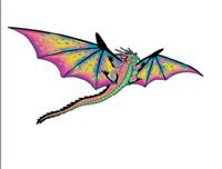 Dragon Kite 3-D
