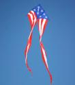 Giant Flow Tail Delta American Flag 19 ft.